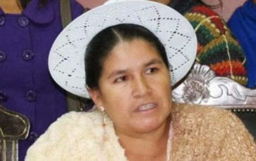 "Leonilda Zurita califica de ""ejemplo de un padre"" a Evo Morales"