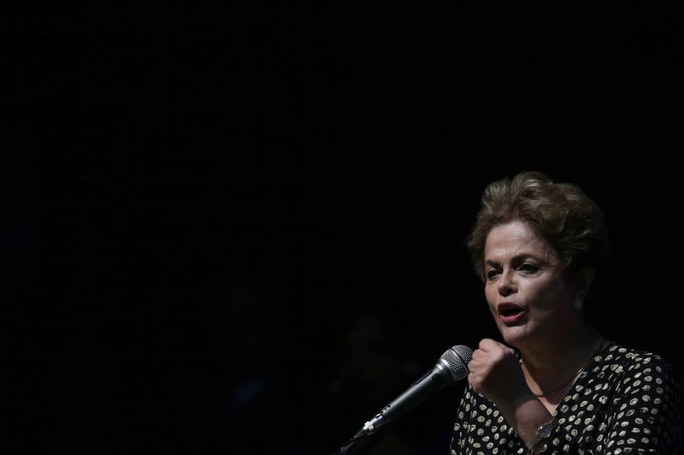 Dilma Rousseff, este martes en Brasilia.