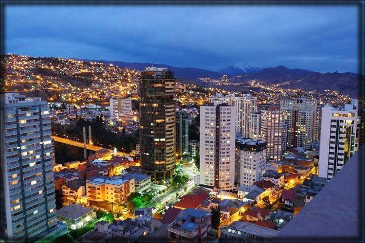 Panorámica, La Paz
