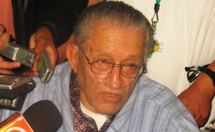 El abogado del ex dictador García Meza. FOTO: CORREO DEL SUR