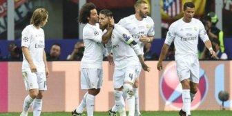 Final Champions: se juega el segundo tiempo con triunfo de Real Madrid 1-0 sobre Atlético