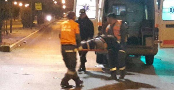 El hecho de tránsito dejó dos discapacitados muertos y cuatro heridos.