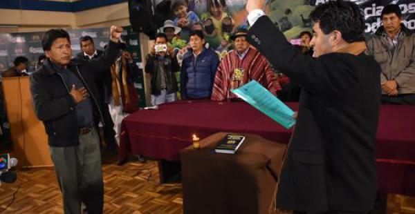 fungió como viceministro de Justicia Indígena Originaria y director general de Distribución de Tierras del Viceministro de Tierras.