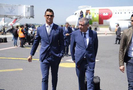 Cristiano Ronaldo, la estrella de la selección de Portugal