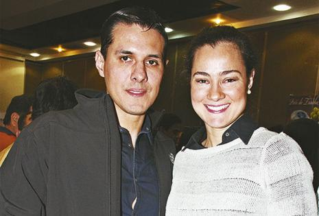 Luis Fernando Arnez y Ana Lía Mansilla