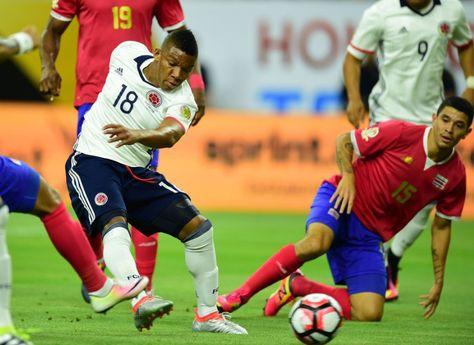 De comienzo a fin, Colombia y Costa Rica fue un partido luchado.
