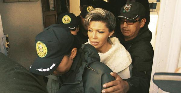 Gabriela respondió a una extensa entrevista que le hizo la Fiscalía. Dijo que tuvo varios problemas con Evo
