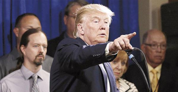 Trump dijo ayer que muchos países del mundo han estado abusando de Estados Unidos