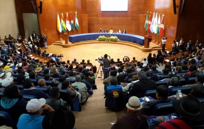 Morales acusa a rivales que piden independencia de querer que la justicia dependa de EEUU