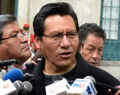 El senador Joaquino (MAS), presidente de comisión. Foto: AFKA-archivo