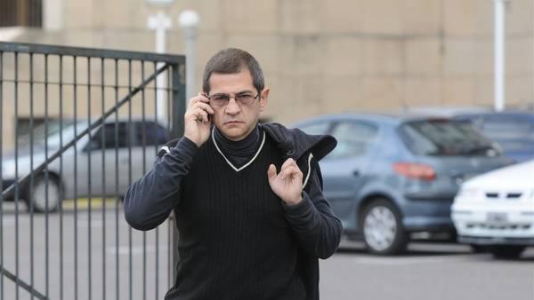 Sergio Schoklender, saliendo de los tribunales de Comodoro Py en 2013. NESTOR GARCIA