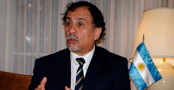 El diplomático argentino