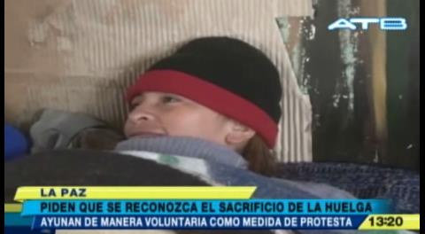 Huelga de hambre de fabriles cumple 34 días