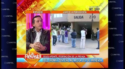 """Federación de Prensa: """"Hoy somos convocados a la sentencia en el juzgado"""""""
