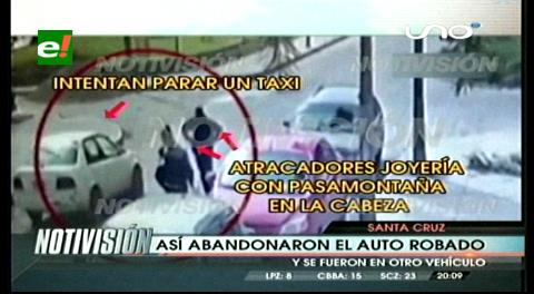 Video muestra el accionar de atracadores de joyería