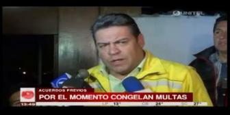 La Paz: Alcaldía decide modificar la Ley del Transporte tras acuerdo con choferes