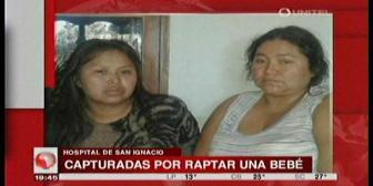 San Ignacio: Mujer se hizo pasar por enfermera para raptar a una bebé recién nacida