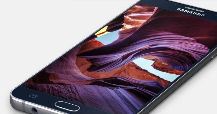 galaxy note 5 frontal