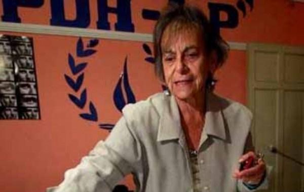 APDHB elige a Amparo Carvajal como presidenta y le encomiendan preservar la independencia institucional
