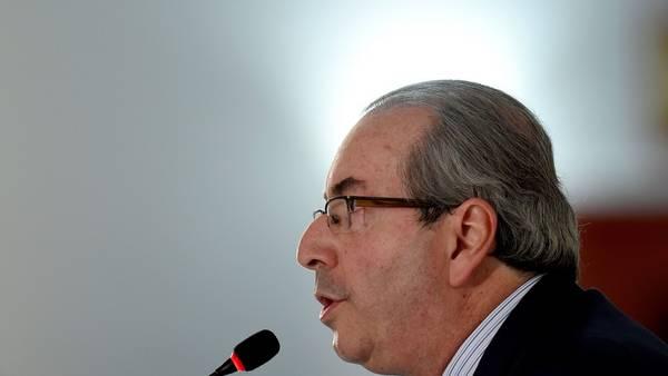 Eduardo Cunha renunció a la presidencia de la Cámara de Diputados de Brasil. / AFP