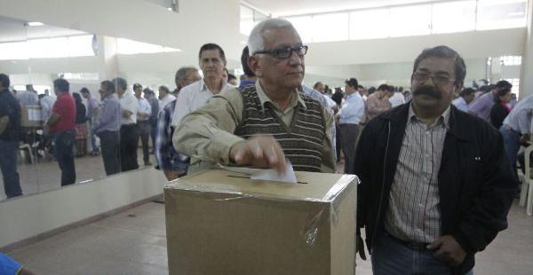 El órgano electoral no  Responde por los incidentes en la U