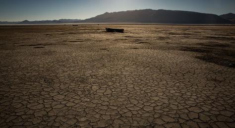 """La fotografía con la que The New York Times grafica el reportaje sobre """"Los nuevos refugiados climáticos de Bolivia"""""""