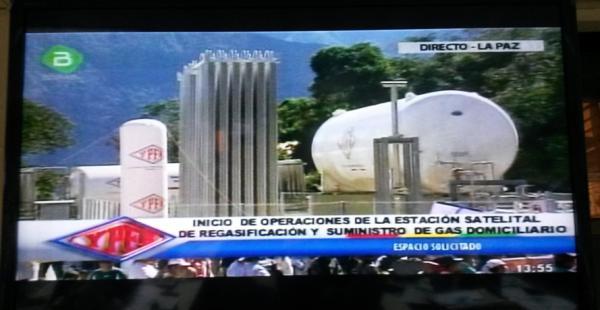 La planta abaratara el precio del gas desde Bs 22 a Bs 8, dijo García Linera