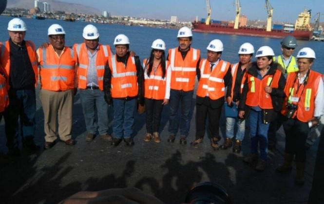 Tensión entre comitiva boliviana y Puerto de Arica por las tarifas y otros cobros