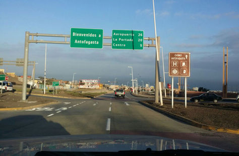Comitiva boliviana ingresa al puerto de Antofagasta