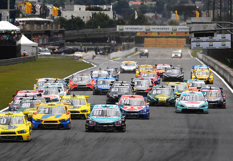 Una carrera de Stock Car, la principal categoría del automovilismo deportivo de Brasil. Foto: stockcar.com.br
