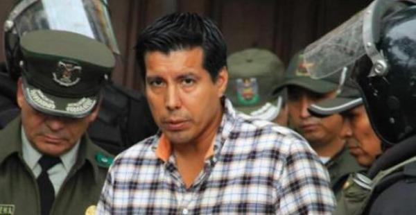 Jaime Cabrera cuando fue aprehemdido en Arroyo Concepción
