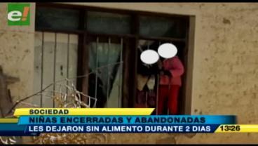 Rescatan a dos niñas encerradas y abandonadas en Sacaba