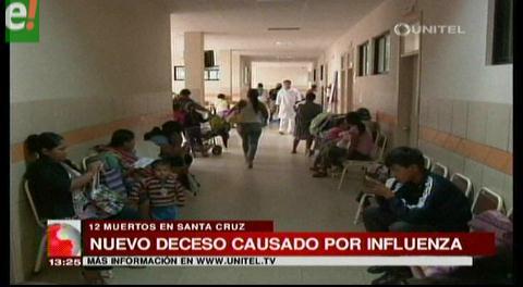 Santa Cruz eleva a 12 la cifra de muertos por AH1N1