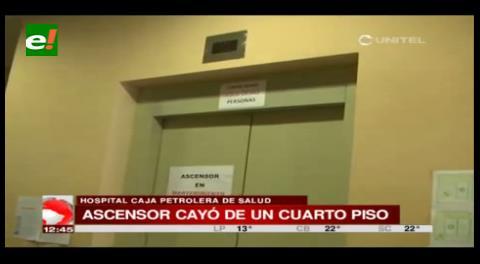 CPS le negó la atención a persona herida por la caída del ascensor de su edificio