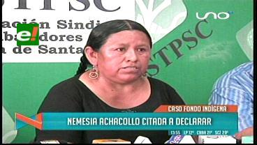 Caso Fondioc: Achacollo se presentará ante la justicia de Oruro