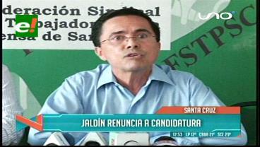 Jaldín oficializa su pedido de nulidad de las elecciones en la 'U' de Santa Cruz