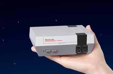 La mini NES, en una imagen facilitada por Nintendo.