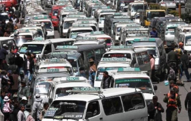 El parque automotor del país aumenta en 118.124 unidades y crece en 8,1%