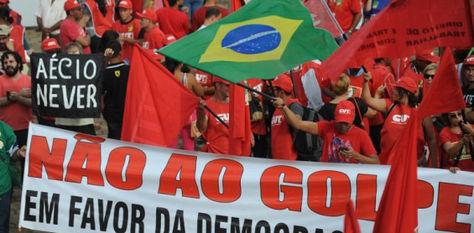 Seguidores del Partido de los Trabajadores se organiza para salir a las calles. Foto: @rcnradio
