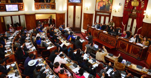 La Cámara Baja sesionó en la víspera y consideró las modificaciones a la Ley de Telecomunicaciones.