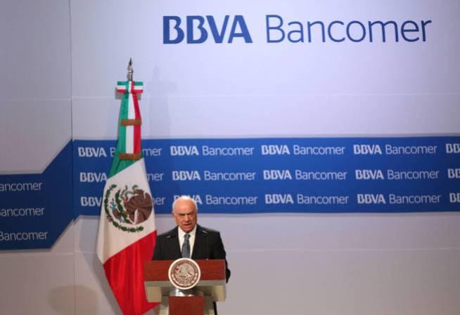El presidente de BBVA, Francisco González, en México. (EFE)
