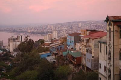Atardecer en Valparaíso (COCO YAÑEZ).
