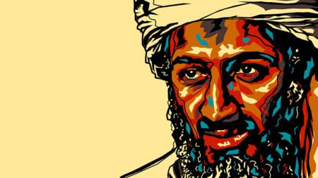 Osama Bin Laden Pop Art Ppcorn