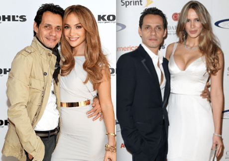 Marc Anthony, Jennifer Lopez, Shannon De Lima