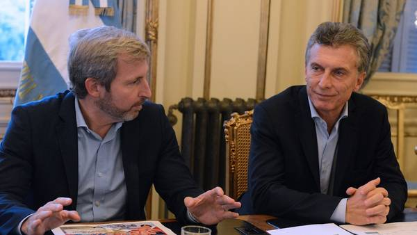 Rogelio Frigerio dijo que Macri será impacable