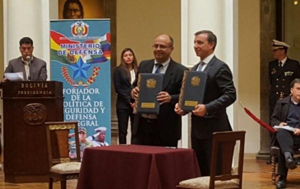 Gobierno firma contrato para la compra de sistema de radares por 191 millones de euros