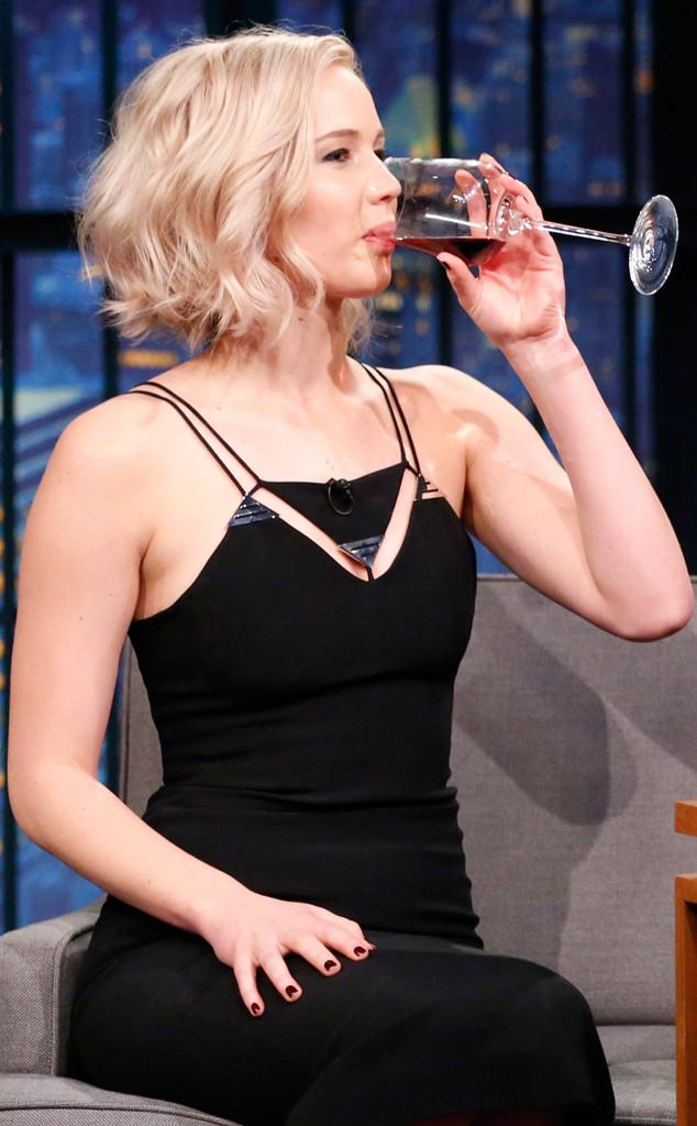 ESC: Jennifer Lawrence, Wine