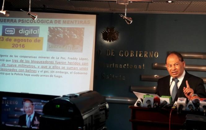 Ministro Romero señala que no se corroboró la muerte de un segundo cooperativista minero