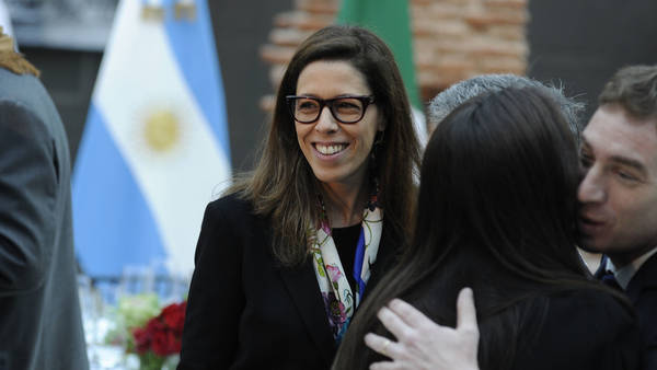 Laura Alonso, la titular de la Oficina Anticorrupción, a fines de julio.