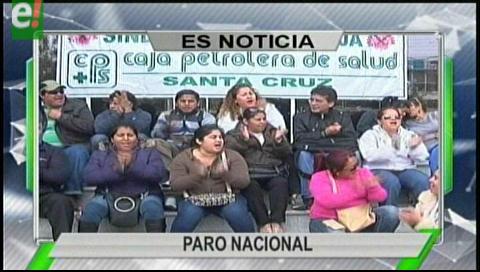 Titulares de TV: Trabajadores de la CPS ratifican el paro nacional de 72 horas